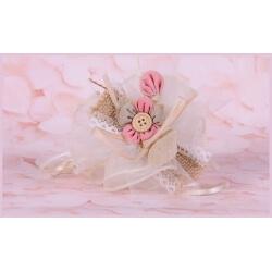 Fleur bouton rose