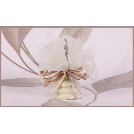Rocher ivoire - Boîtes à dragées - Dragées Braquier