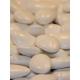 Caritas blanc, ruban à pois - Boîtes à dragées - Dragées Braquier