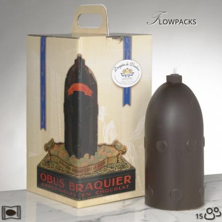 Obus Flowpacks N°2 - Dragées Braquier, confiseur chocolatier à Verdun