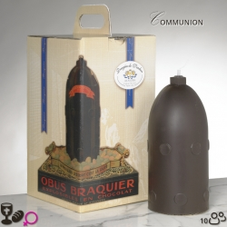 Girl communion Chocolate Bomb Size 3 - Dragées Braquier, confiseur chocolatier à Verdun