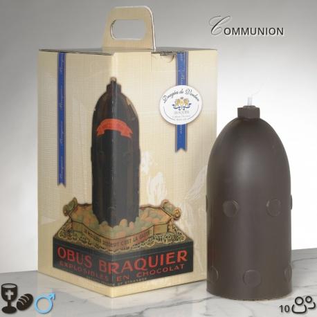 Boy communion Chocolate Bomb Size 3 - Dragées Braquier, confiseur chocolatier à Verdun