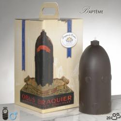 Boy Baptism Chocolate Bomb Size 1 - Dragées Braquier, confiseur chocolatier à Verdun