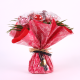 Bouquet rouge – rose fuchsia