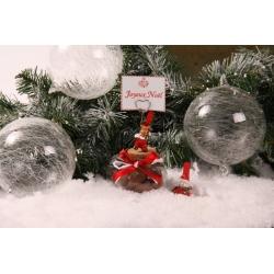 Bonhomme de neige et Renne de Noël