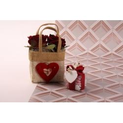Petite boîte cœur - Coffrets et idées cadeaux - Dragées Braquier
