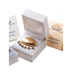Gold jewellery case