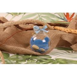 Œuf Dino bleu - Boîtes à dragées - Dragées Braquier