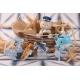 Pochon à dragées en lin ligne beige - Collection complète