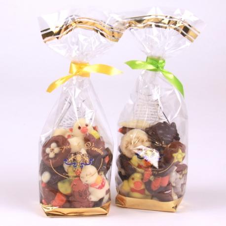 Friture de Pâques, Chocolats assortis, sachet 150gr