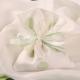 Pochon blanc à pois verts - Boîtes à dragées - Dragées Braquier