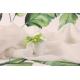 Fleur verte sur seau blanc à dragées