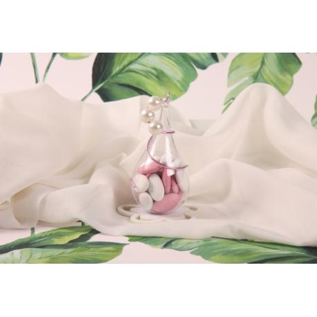 Perles sur goutte - Boîte à dragée - Collection Exotique