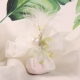 Tulle dentelle blanc et piquet perle - Boîtes à dragées - Dragées Braquier