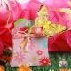 Sixties FLEURI papillon jaune - Boîtes à dragées - Dragées Braquier