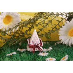 Attrape rêve Pyramide - Boîte à dragées Ethnique-chic, Collection Mariage sur l'Herbe