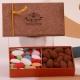 Écrin Vendôme cacao - Assortiment de dragées et confiseries