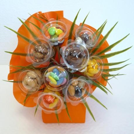 Bouquet N°15 Uni - Dragées Braquier, confiseur chocolatier à Verdun