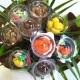 Bouquet N°9 Bicolore - Dragées Braquier, confiseur chocolatier à Verdun
