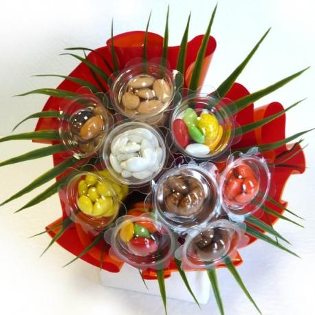 Bouquet N°10 - 2 Feuilles - Dragées Braquier, confiseur chocolatier à Verdun