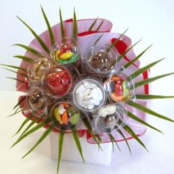 Bouquet N°11 - 2 Feuilles - Dragées Braquier, confiseur chocolatier à Verdun