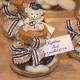 Lot d'étiquettes personnalisées Bleu marine - Étiquettes pour boîtes à dragées - Dragées Braquier