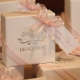 Lot d'étiquettes personnalisées Rose pâle