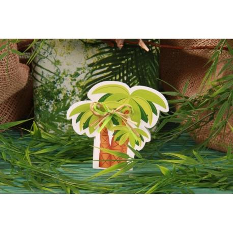 Boîte à dragées Palmier
