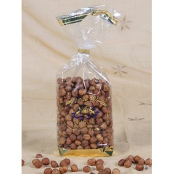 Natural hazelnut, Confectioner-bag 500 g - Dragées Braquier, confiseur chocolatier à Verdun