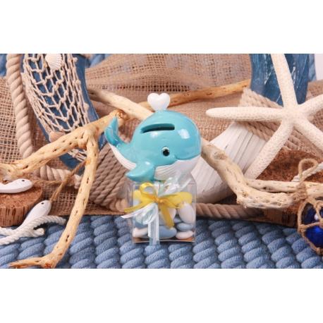 Baleine sur boîte - Boîtes à dragées - Dragées Braquier