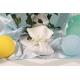 Pochon blanc à pois vert - Boîtes à dragées - Dragées Braquier