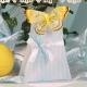 Papillon jaune sur Arbre Gemme - Boîtes à dragées - Dragées Braquier