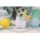 Papillon jaune sur Corail Gemme - Boîtes à dragées - Dragées Braquier