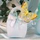 Papillon jaune sur Corail Gemme