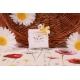 Caritas dentelle blanc - Boîtes à dragées - Dragées Braquier