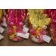 Lot d'étiquettes personnalisées Fuchsia