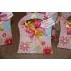 Lot d'étiquettes personnalisées Fuchsia - Étiquettes pour boîtes à dragées - Dragées Braquier