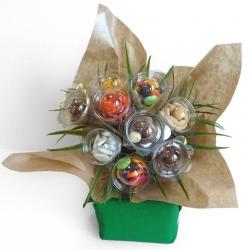 Bouquet N°20 - Uni Kraft - Dragées Braquier, confiseur chocolatier à Verdun