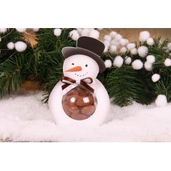 Bonhomme de neige - Boîtes à dragées - Dragées Braquier