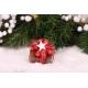Étoile de Noël blanche - Boîtes à dragées - Dragées Braquier