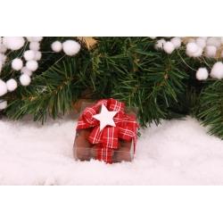 Étoile de Noël blanche - Décorations gourmandes