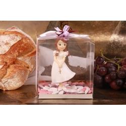 Communiante dans sa boîte - Boîtes à dragées - Dragées Braquier