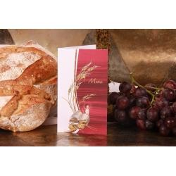 Menu épi de blé et missel - Boîtes à dragées - Dragées Braquier