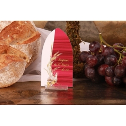 Image épi de blé et missel - Boîtes à dragées - Dragées Braquier