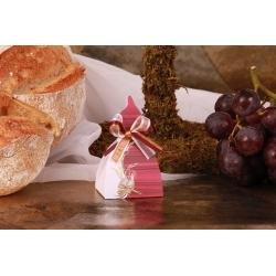 Bougie épi de blé et missel - Boîtes à dragées - Dragées Braquier
