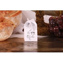 Iris Calice argent - Boîtes à dragées - Dragées Braquier