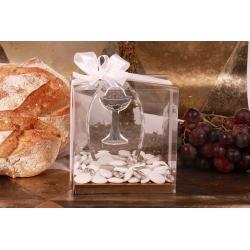 Stèle Calice dans sa boîte - Boîtes à dragées - Dragées Braquier