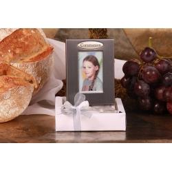 Cadre Communion sur boîte - Boîtes à dragées - Dragées Braquier
