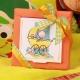 Boîte Nina Bébé poussette - Boîte à dragées Baptême