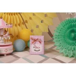 Pochette cheval rose - Boîtes à dragées - Dragées Braquier